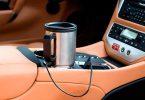 Автомобильная термокружка с подогревом от прикуривателя