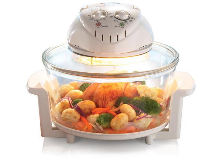 Аэрогриль позволяет быстро готовить любые блюда
