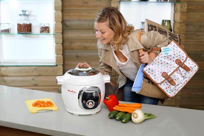 Мультиварка способна значительно сократить время приготовления пищи