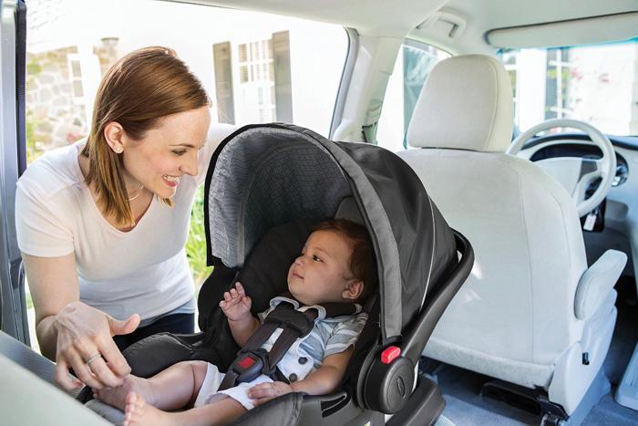 Автокресло для малыша Graco 30 LX