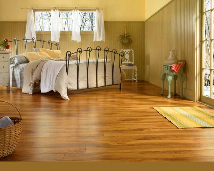 Ламинат для спальни и детской должен быть экологичным