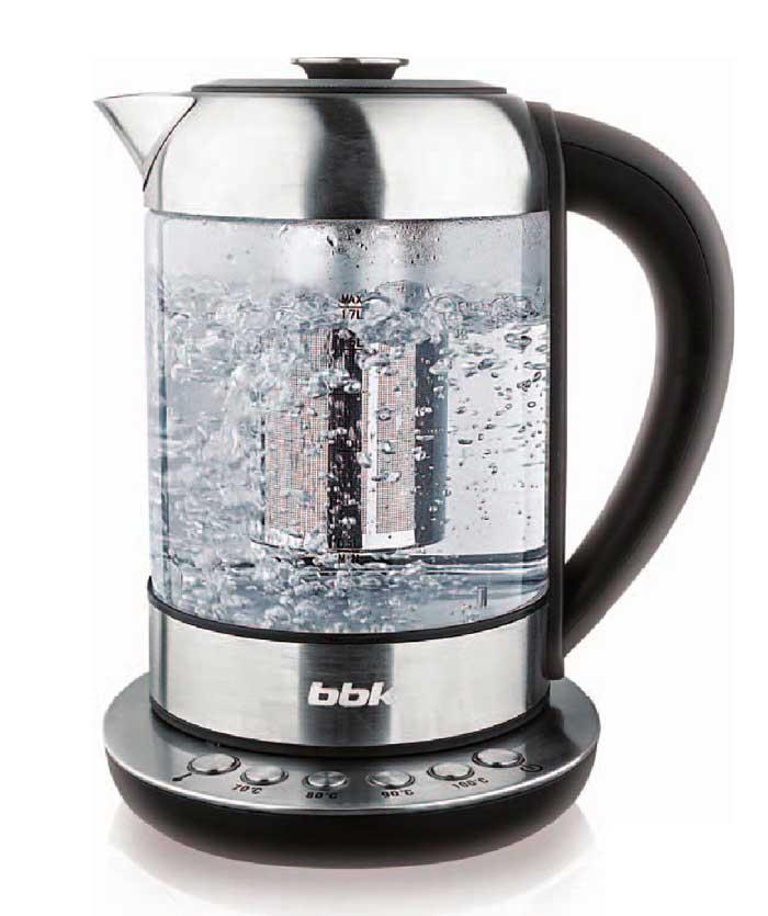электрический чайник из закаленного стекла