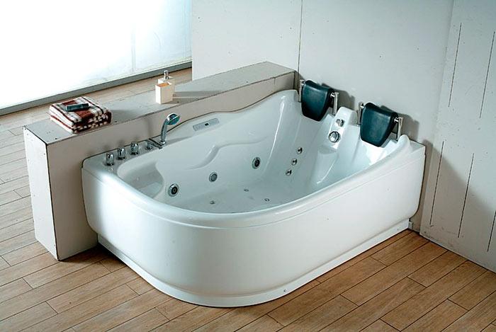 Акриловые ванны имеют самое большое разнообразие форм