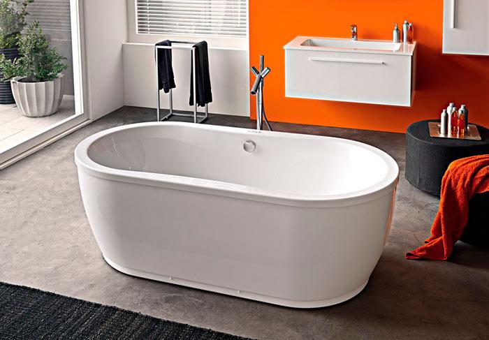 Средний срок службы акриловой ванны - 20 лет