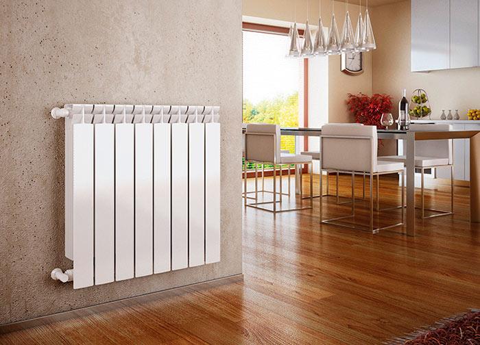 Алюминиевые радиаторы быстро нагреваются, но при этом так же быстро остывают