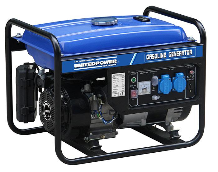 Бензиновый генератор работает в 2 раза тише дизельного