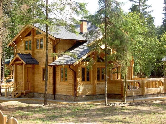 Дом из бруса - пожароопасное строение