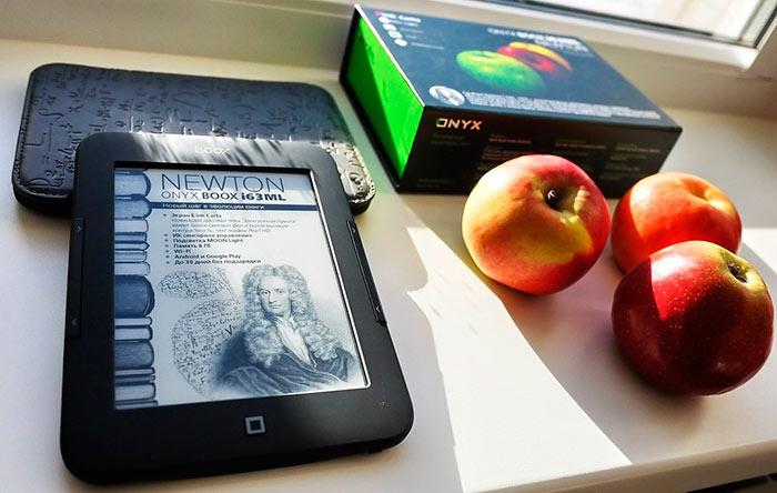 Лучший экран для электронной книги - e-ink, или так называемые, электронные чернила