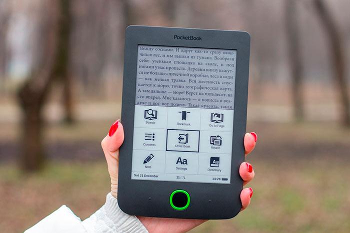PocketBook - лидер продаж электронных книг в России