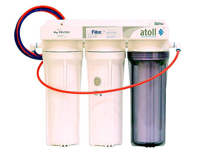 Картриджный фильтр для скважины довольно затратный, так как требует частой замены