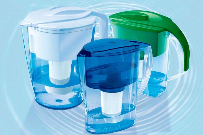 Выбирать картридж для кувшина необходимо в зависимости от типа очищаемой воды