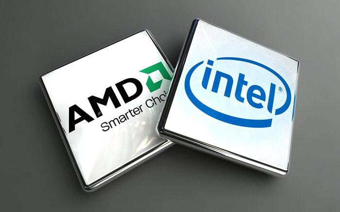 Два популярных производителя процессоров - АМD и Intel