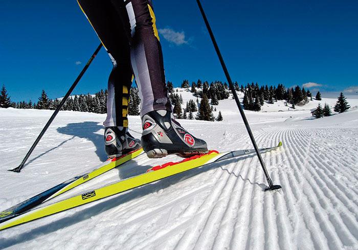 Для новичков лучше выбирать лыжи на 20 см короче роста