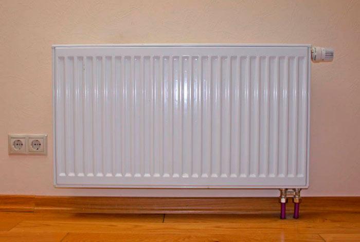Панельные радиаторы отопления имеют хорошую теплоотдачу