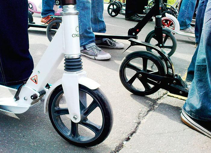 Самый популярный материал для колес самоката - полиуриетан