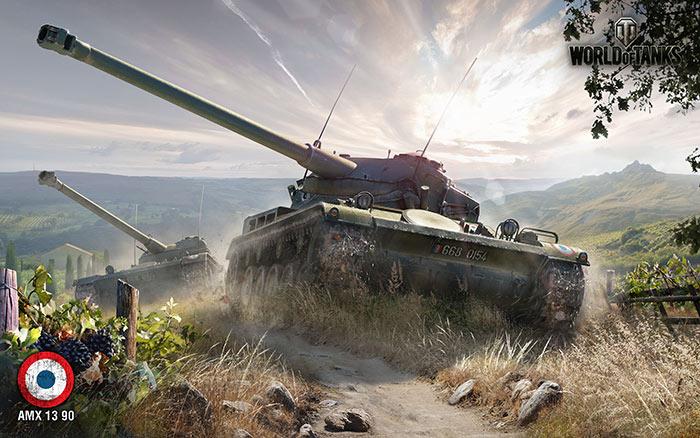 Французский танк AMX 1390 отличается высокой маневренностью