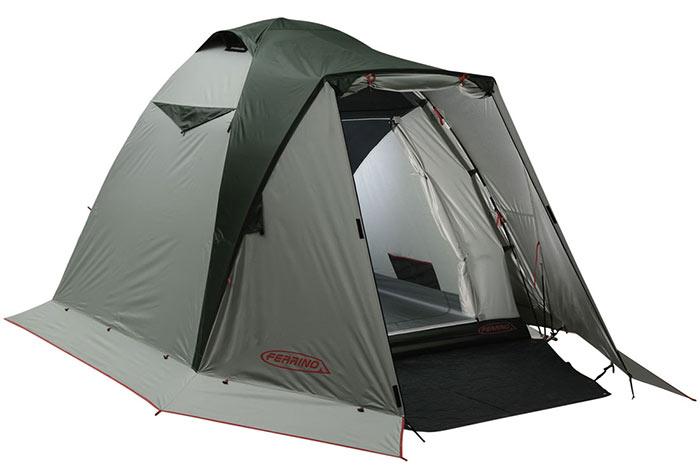 В хорошей туристической палатке должно быть несколько отверстий для вентиляции