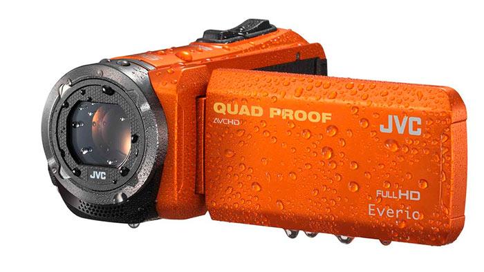 Видеокамеры JVC выпускаются в специальном влагозащищенном корпусе