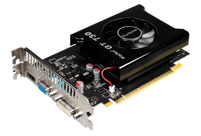 Видеокарта Nvidia GeForce GT 730 - лучшая среди бюджетных вариантов