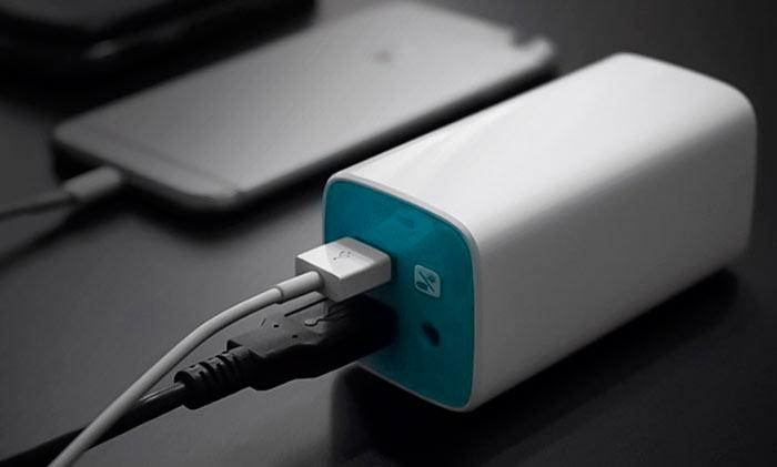 Емкость внешнего аккумулятора должна быть в 2 раза больше батареи заряжаемого гаджета