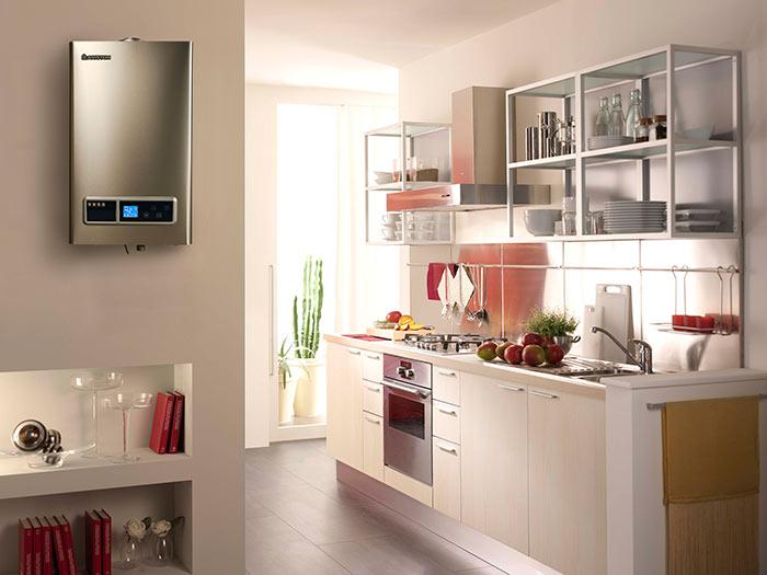 Водонагреватель можно установить как в частном доме, так и в квартире