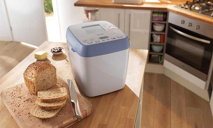 Благодаря функции отложенного старта вы будете просыпаться под ароматы свежеиспеченного хлеба