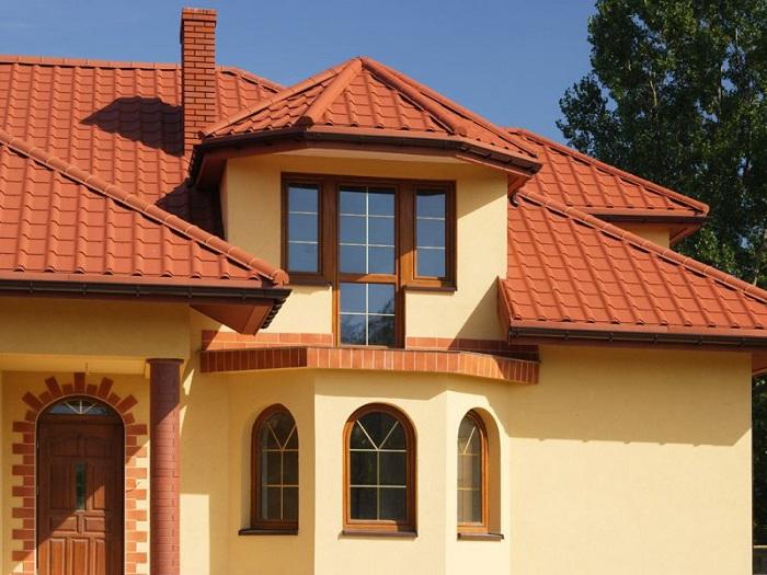 Выбираем покрытие крыши металлочерепица или ондулин