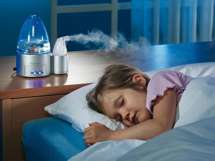Паровой увлажнитель воздуха опасен для детей