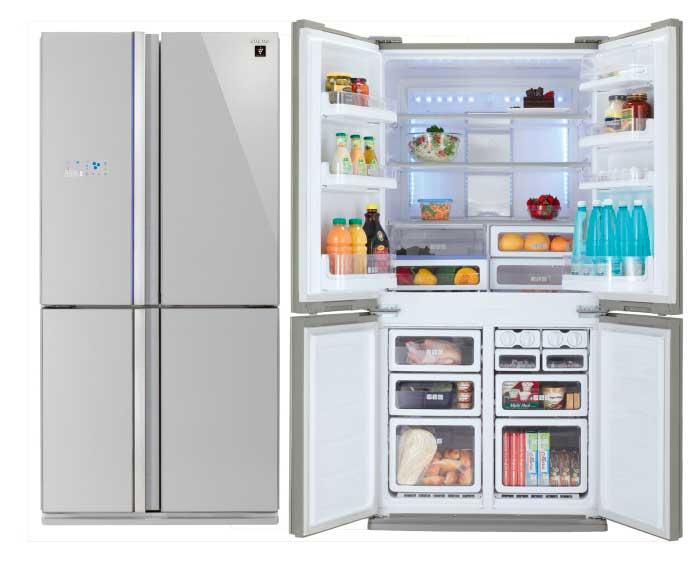 Распашные холодильники обеспечивают максимальный внутренний объём