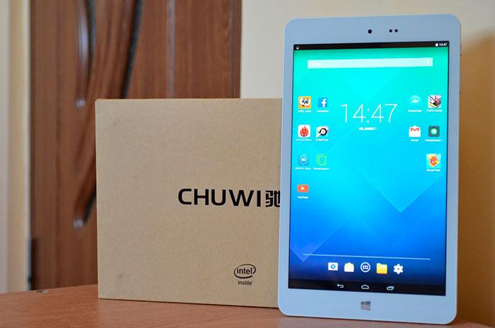 Chuwi Hi8 Pro с гибридной операционной системой