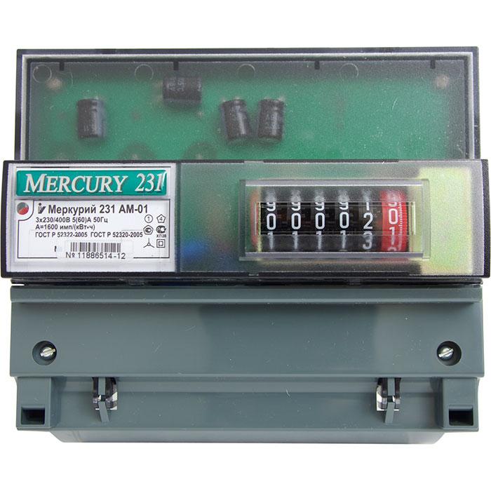 Один из самых популярных электросчетчиков - Меркурий