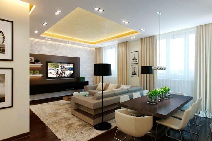 Какую мебель выбрать для гостиной в современном стиле: корпусная мебель для гостиных фото