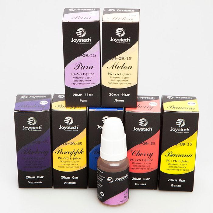 Joyetech - один из самых популярных производителей жидкостей для электронных сигарет