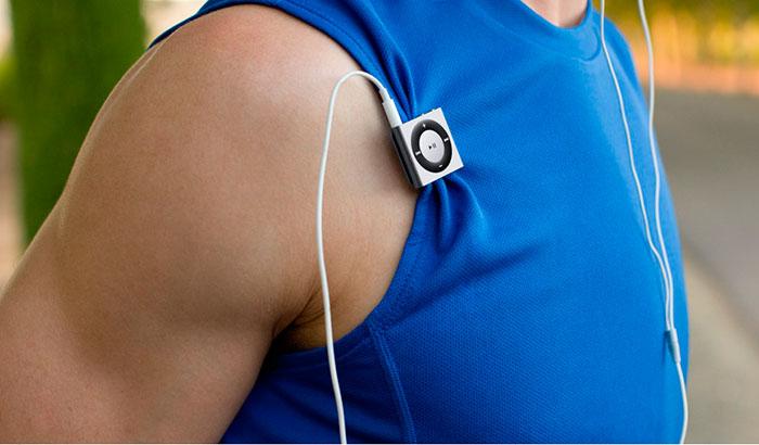 Apple iPod shuffle 4 - компактный и надежный MP3 плеер