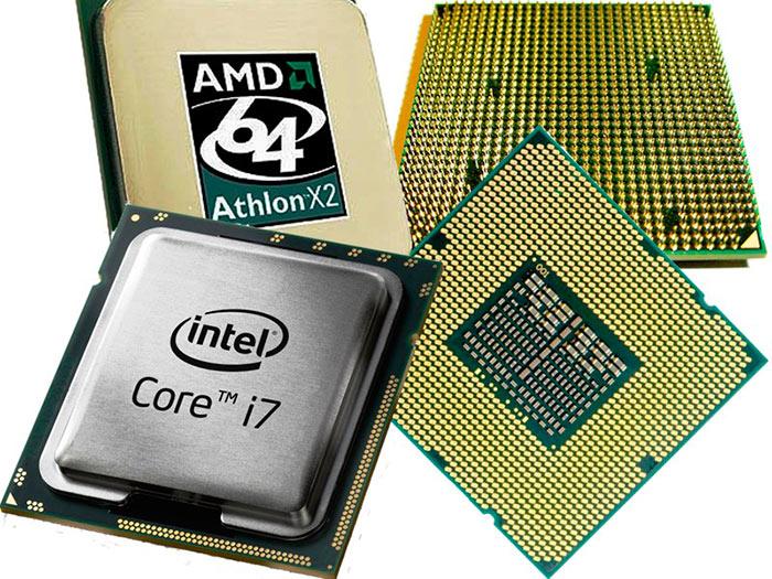 Рынок процессоров для компьютеров занят двумя гигантами - Intel и AMD