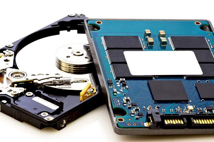 Если необходимо хранение большого количества информации и быстродействие, можно установить оба диска