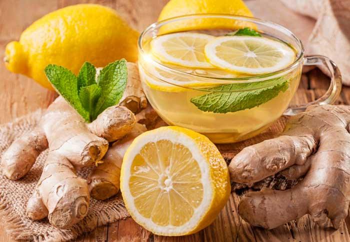 Имбирь, входящий в состав чая, усиливает метаболизм и кровообращение