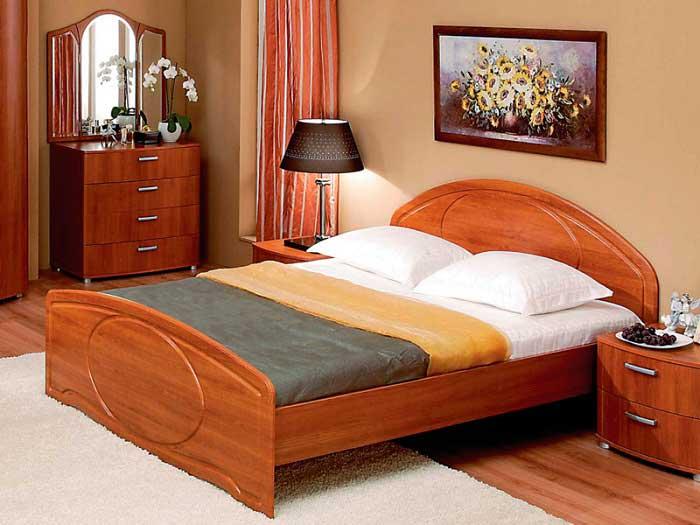 Кровать для спальни должна быть удобной и прочной