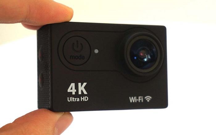 Экшн-камера намного компактнее обычной видеокамеры
