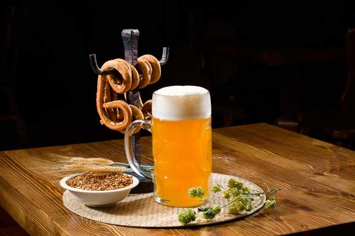 В светлых сортах пива наиболее выражена хмелевая горечь