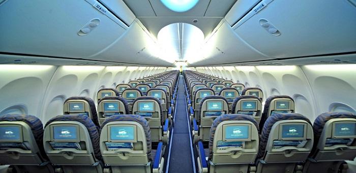 Места в хвосте самолета самые безопасные