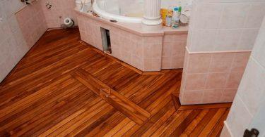 Линолеум в ванной комнате