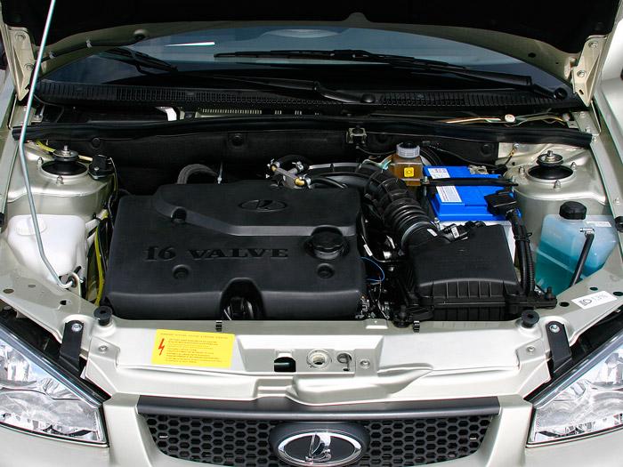 16-ти клапанный двигатель хорошо подходит к скоростному режиму езды
