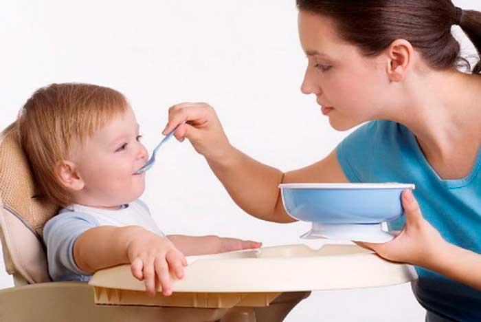 Кукурузная каша положительно влияет на иммунитет крохи