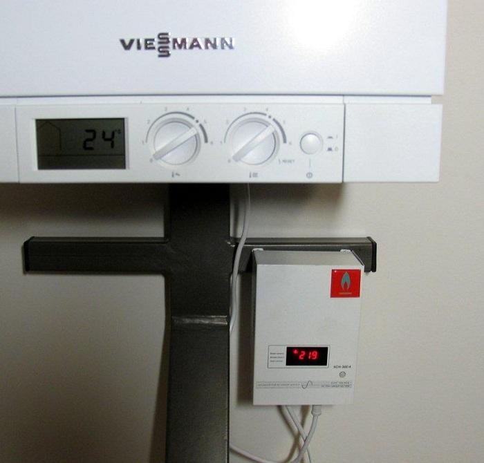 Система управления газовых котлов очень чувствительна к скачкам и перепадам напряжения