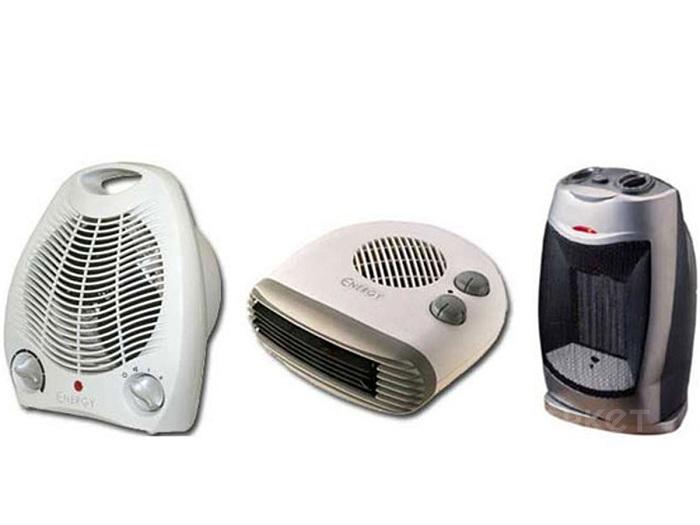 Тепловентиляторы со спиральным нагревательным элементом быстро сжигают кислород