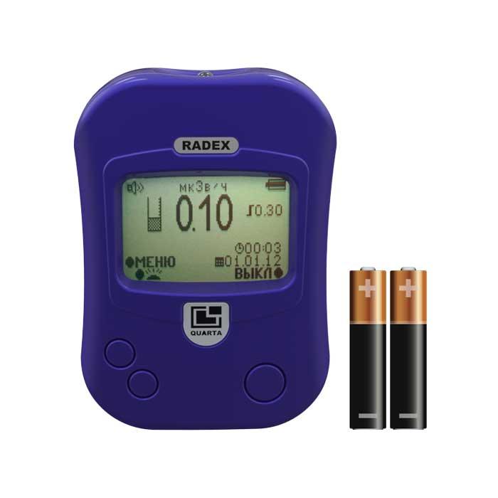 Датчик дозиметра радиации отвечает за скорость получения данных и величину погрешности