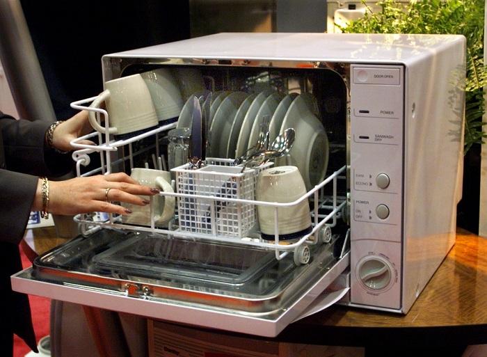 Как выбрать настольную посудомоечную машину