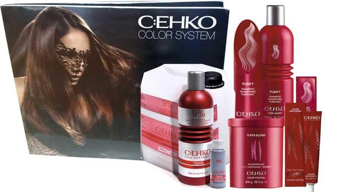 Краски для волос C:EHKO хорошо закрепляются и не вредят волосам