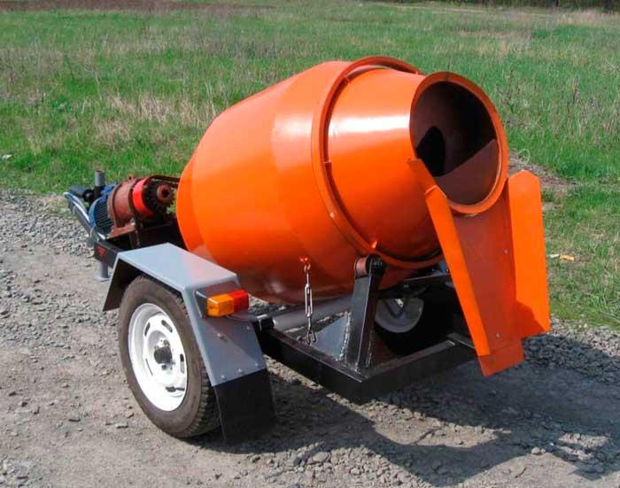 Оптимальная емкость бетономешалки для дачи 100-150 литров
